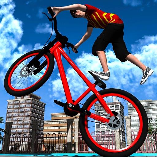 BMX Mountain Bicycle Freestyle stunts