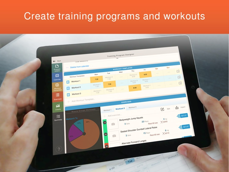 FitTrack App - Multifunctional Fitness Software