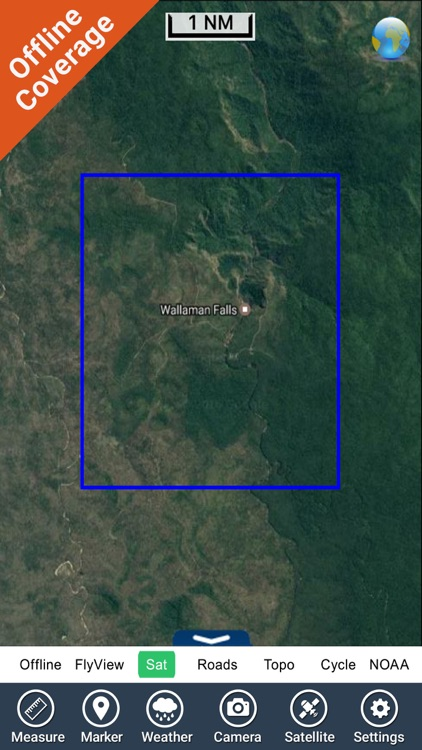 Wallaman Falls NP HD GPS charts Navigator screenshot-4