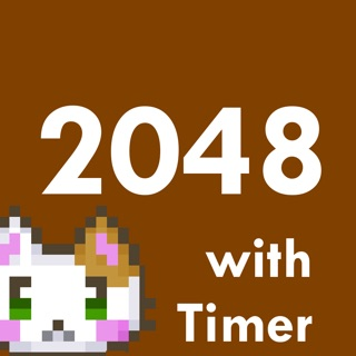 2048 with Timer Ingress Color version/puzzle game on the App