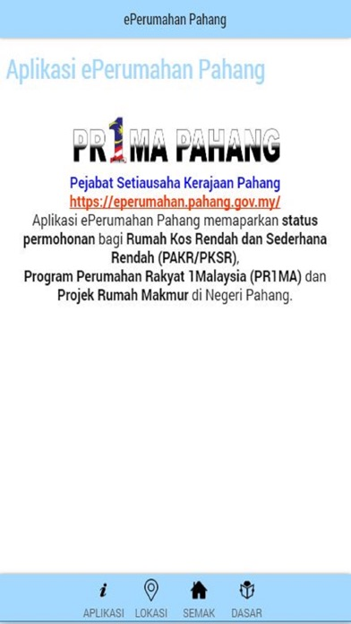 ePerumahan Pahang by GOVERNMENT OF MALAYSIA (iOS, United