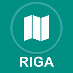 Riga, Latvia : Offline GPS Navigation