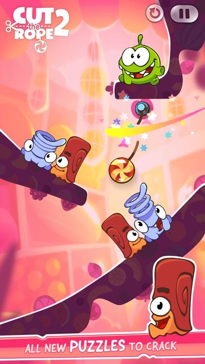 Cut The Rope 2: Om Nom's Adventure screenshot-3