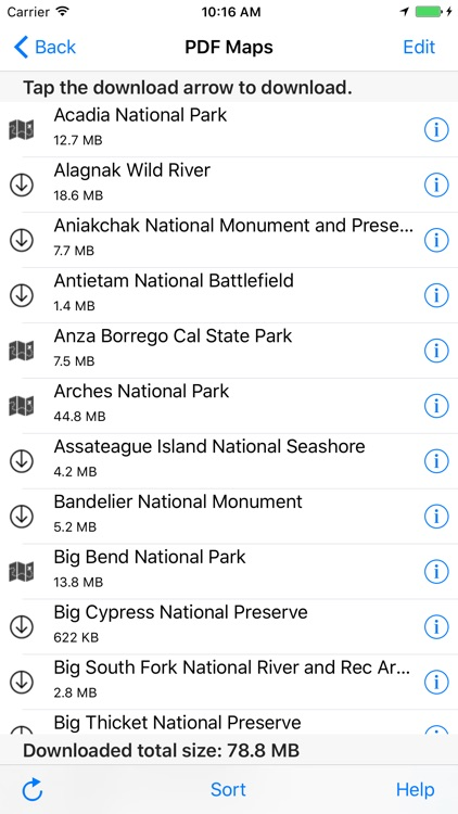 USFS and BLM Campgrounds screenshot-4