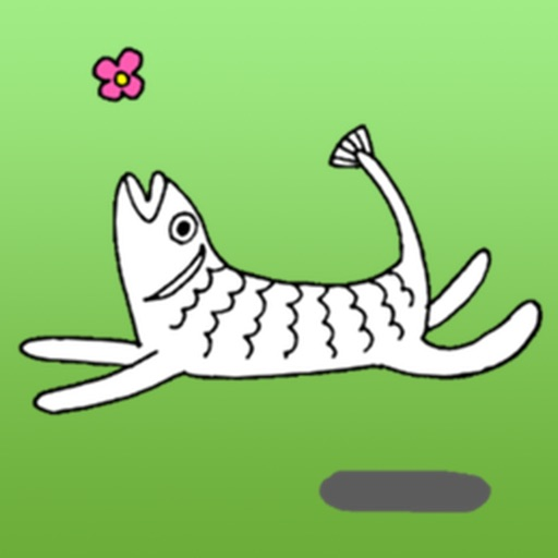 Weird Stickers - Fish Cat