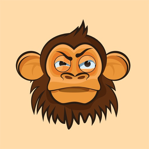 Monkey - Stickers for iMessage