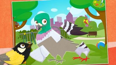 鳥類: 知育 ぱずる 子供のためのパズルとカラーのおすすめ画像5