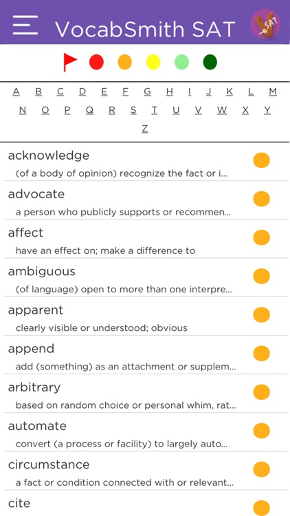 VocabSmith SAT screenshot-3
