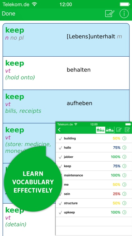 Dictionary German <-> English SCHOOL by PONS screenshot-4