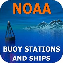 NOAA Buoy Stations & Ships (NDBC Observations)