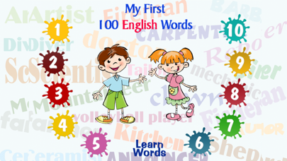 My First 100 English Words 1 screenshot one