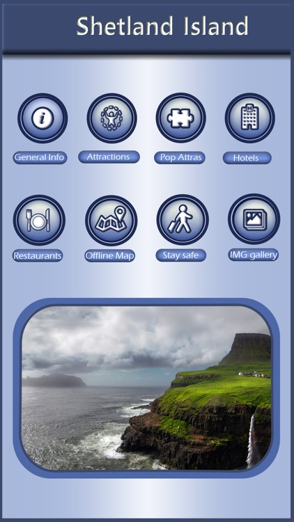Shetland Island Offline Map Guide screenshot-0