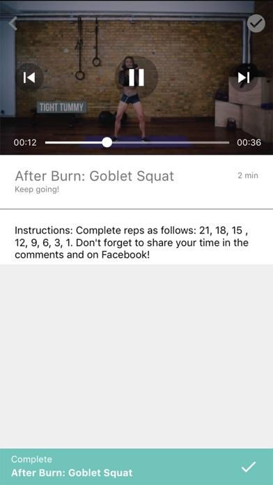Badass Body X Fitness screenshot 3