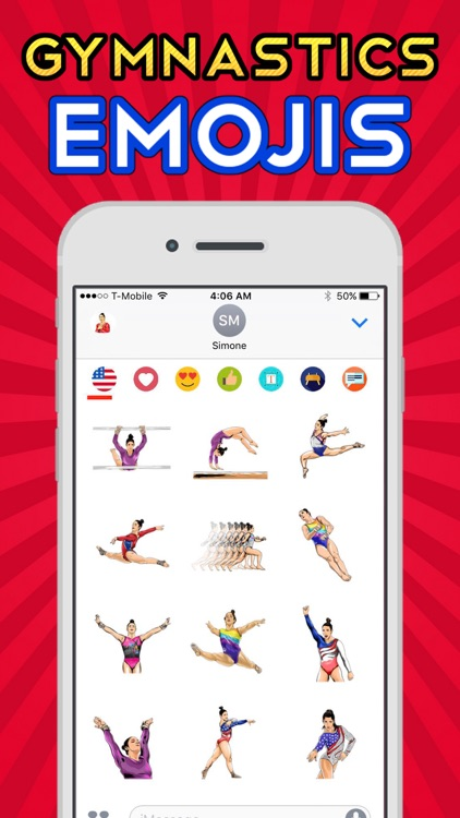AlyRaismoji by Aly Raisman screenshot-2