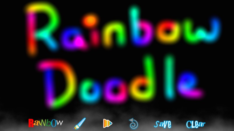 RainbowDoodle - Animated rainbow glow effect