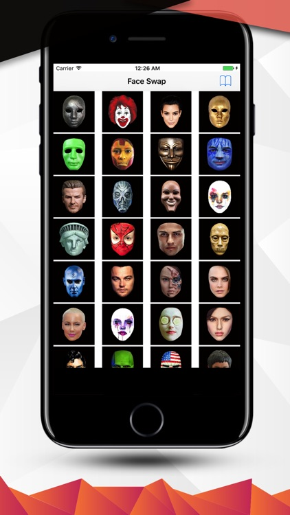add more face swap to snap emoji filter and mask