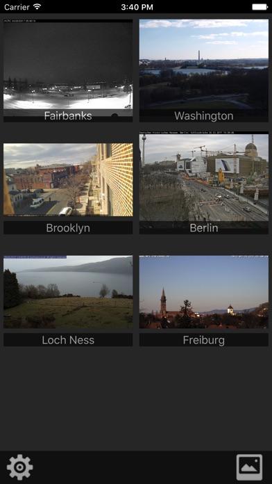 Webcams Lite - deine Kameras im BlickScreenshot von 1