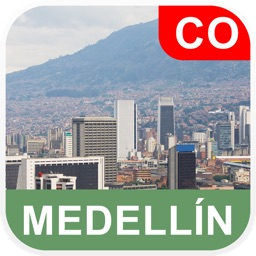 Medellin, Colombia Offline Map - PLACE STARS