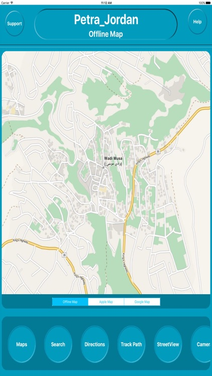 Petra Jordan Offline City Maps with Navigation