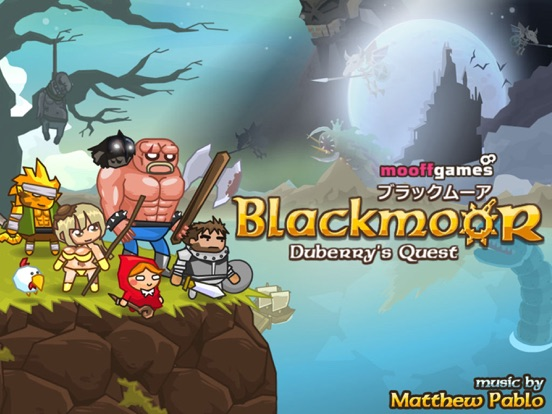 Blackmoor - Duberry's Quest Screenshot