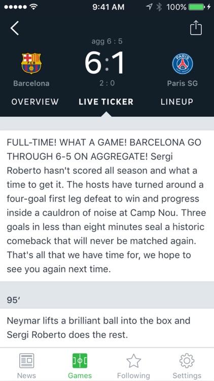 Onefootball Soccer News screenshot-3