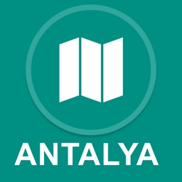 Antalya, Turkey : Offline GPS Navigation