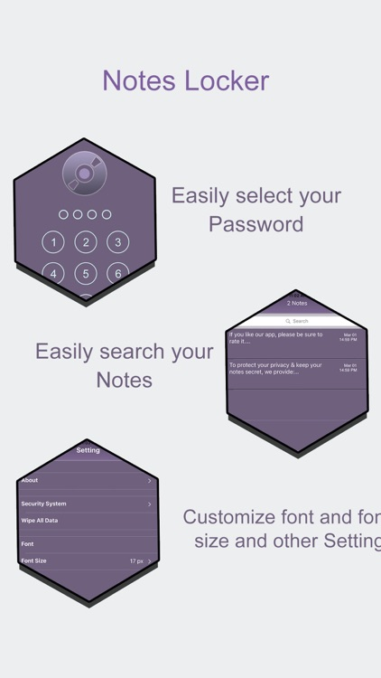 NotesLocker:Hide Secure Notes