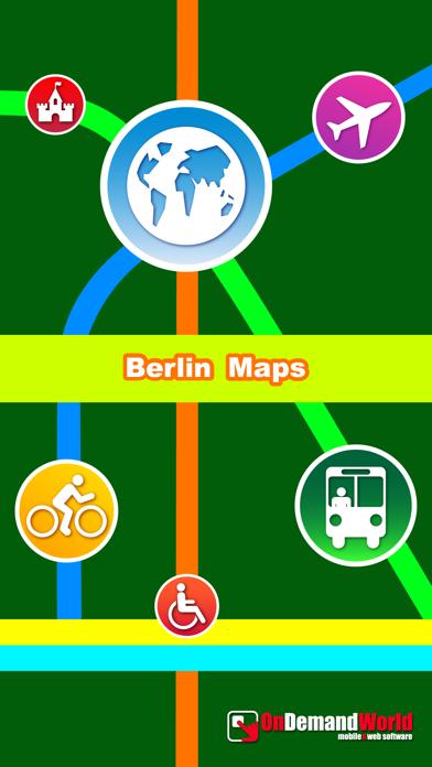 Berlin Карты Города - Узнайте BER MTR,Travel GuideСкриншоты 5