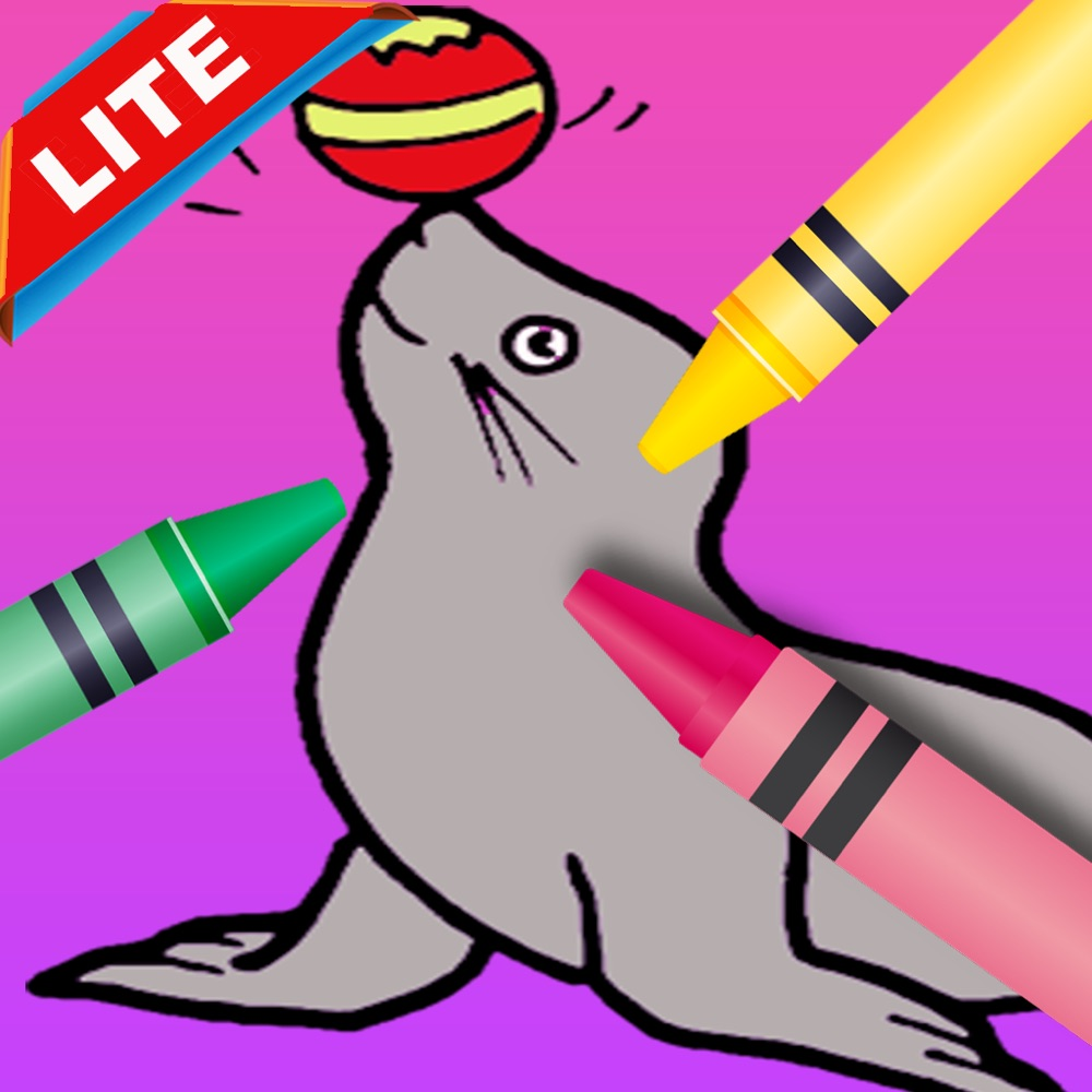 Lite coloring book toddlers games pet pets animals - App - Mobile Apps