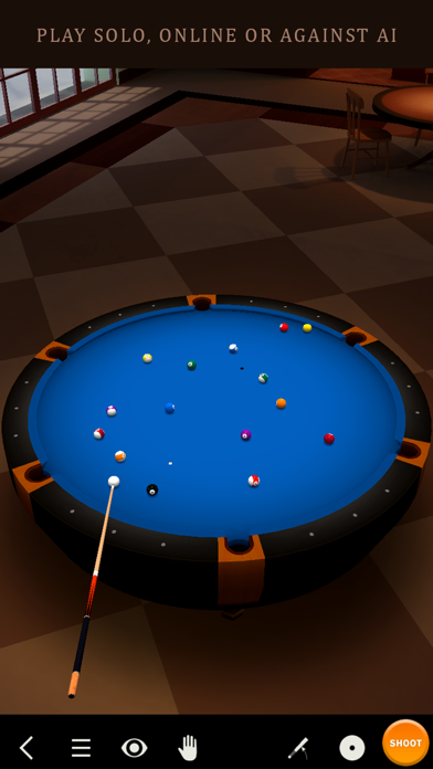 Pool Break Lite - 3Dビリヤードやスヌーカーのおすすめ画像1