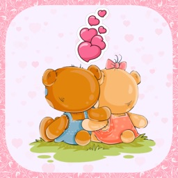 Is Love... Cute Romantic Stickers for Messages