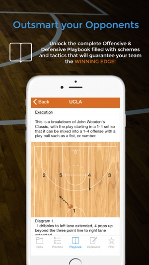 Basketball blueprint on the app store malvernweather Gallery