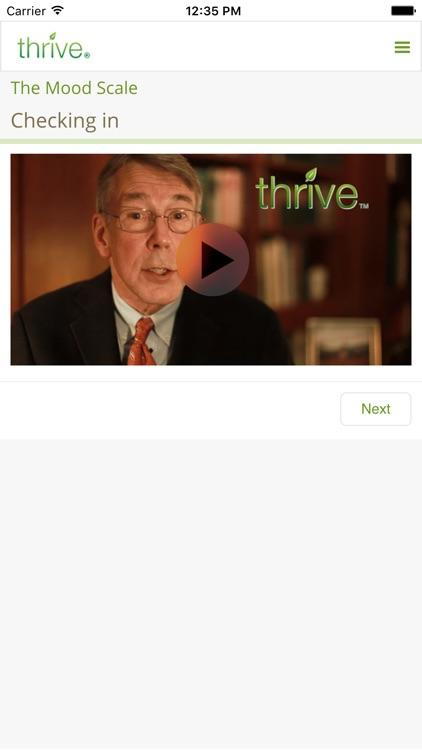 Thrive - Feel better, sooner screenshot-4