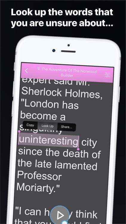 AudioBookPlus: The Return of Sherlock Holmes screenshot-3