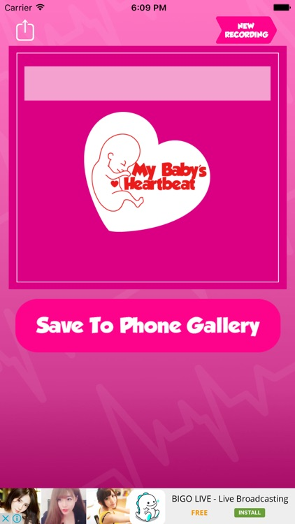 My Baby's Beat - Baby Heart Monitor Heartbeat screenshot-2