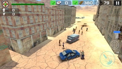 Zombie Hunter Attack On Desert Town Final Defence screenshot one