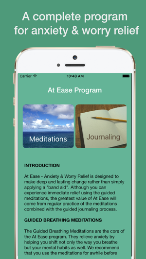 At Ease: Anxiety & Worry Relief