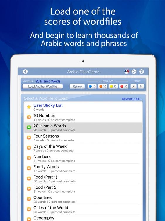 how to learn arabic app