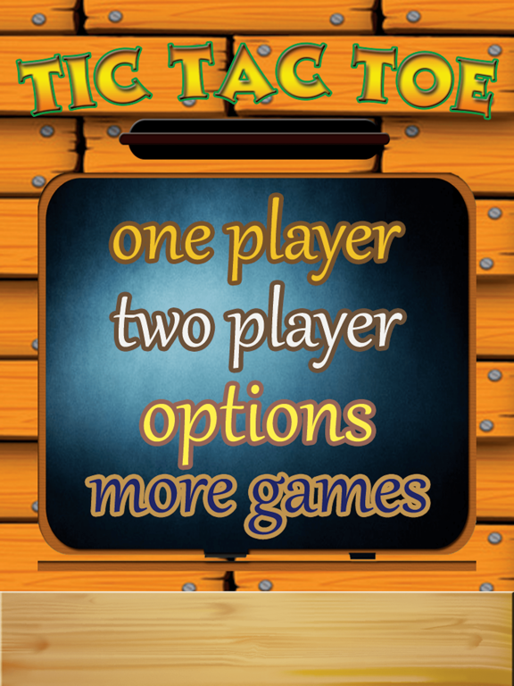 TicTacToe - One & Two Player screenshot 6