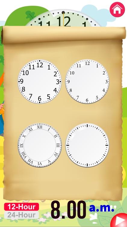Clock Learning for Kids screenshot-3