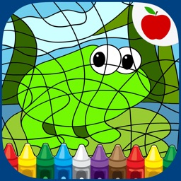 Color By Number Coloring Games
