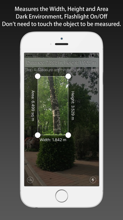 Cam Measure - get distance, height, width and area screenshot-3