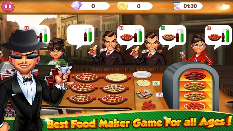 Cooking Games Pizza Fast Food Maker & Kitchen Chef screenshot-3