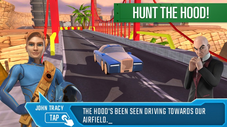 Parker's Driving Challenge Thunderbirds Are Go screenshot-4
