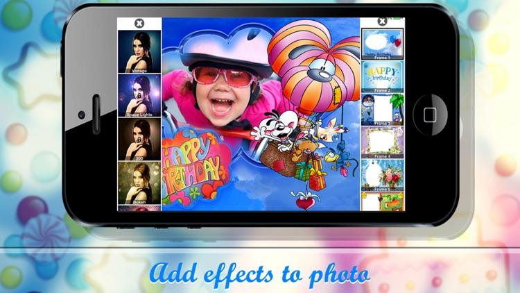 Birthday frames - Photo frames screenshot-3