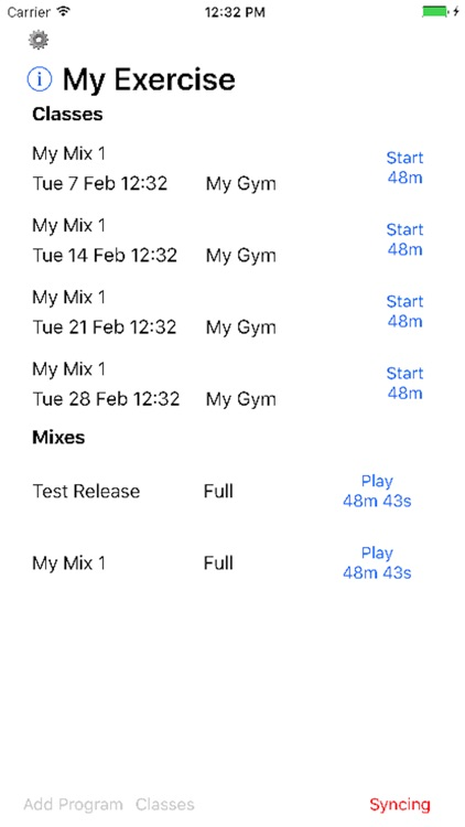 GroupFitness screenshot-0