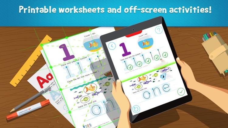 Kids Academy - preschool learning games for kids app image