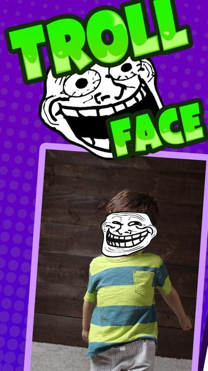Troll Face Camera & Meme Creator: Rage Comic Maker