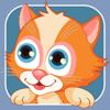 Веселі тварини - розвиваюча гра пазл для дітей