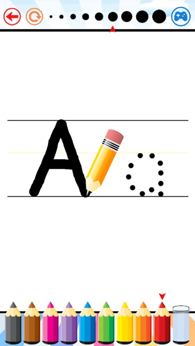 Write Letters ABC and Numbers for Preschoolers app image